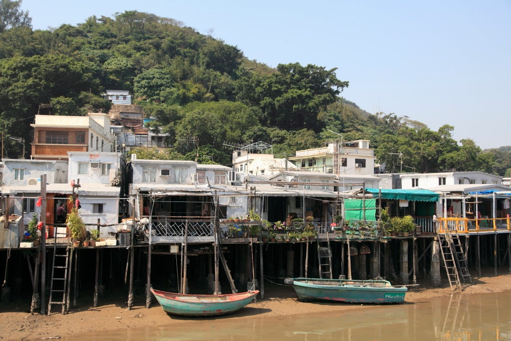 Stilt houses of Tai O.