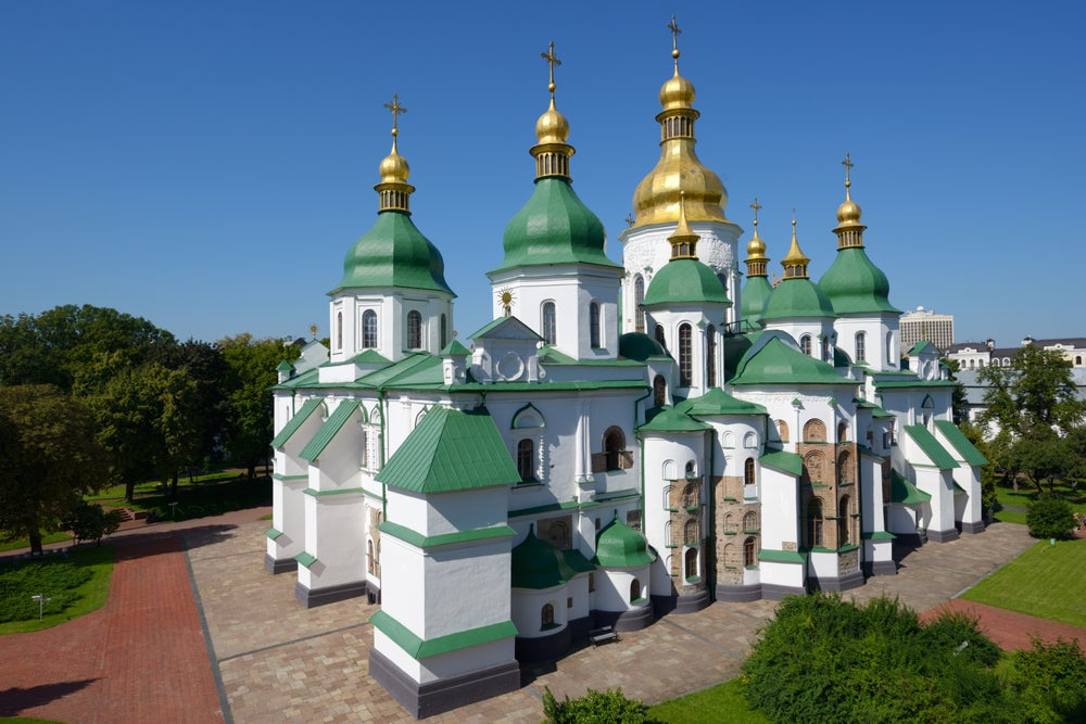 St Sophia's Cathedral in Kyiv.