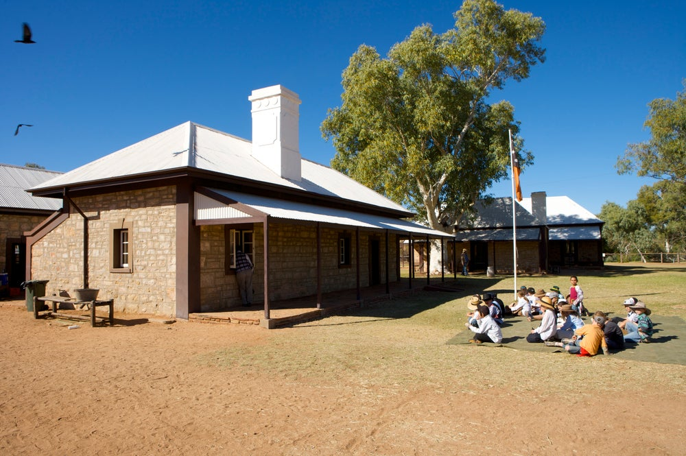 Telegraph Station Historical Reserve.