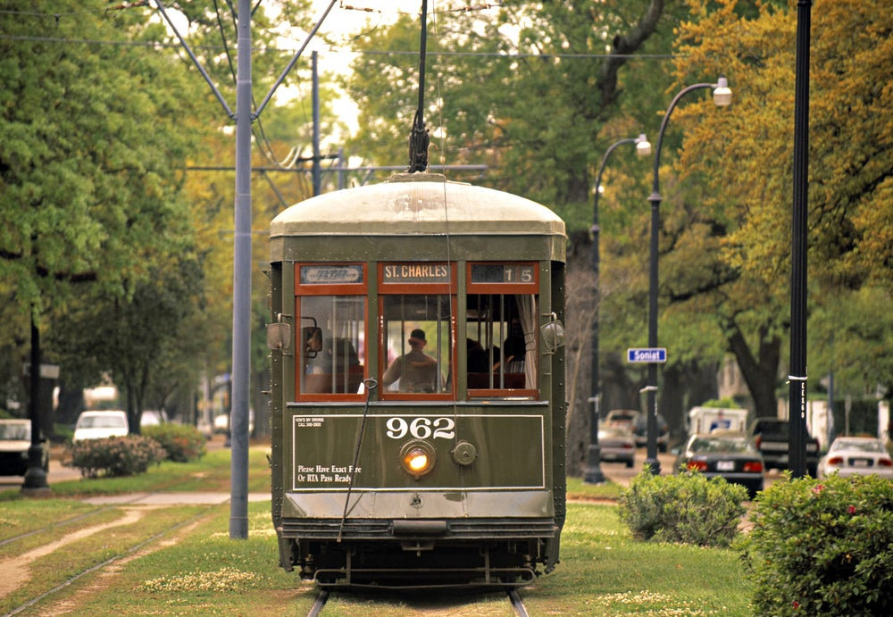 St Charles Avenue Streetcar.