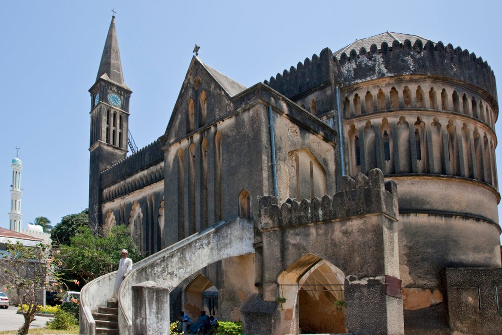 Anglican Cathedral in Zanzibar Town.