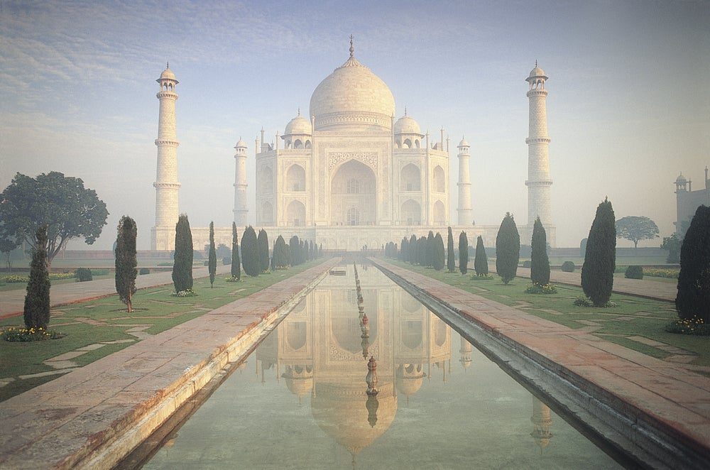 Taj Mahal at dawn, Agra, Uttar Pradesh