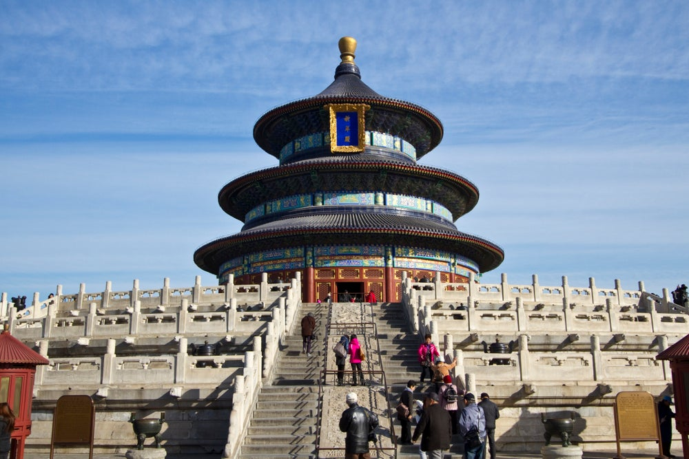 Temple of Heaven Park.