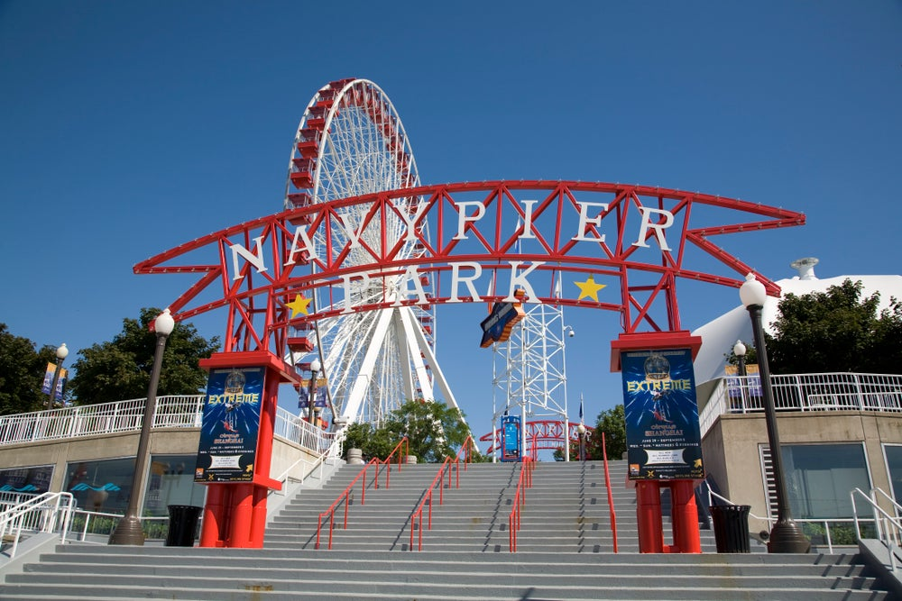 Entrance to Navy Pier.