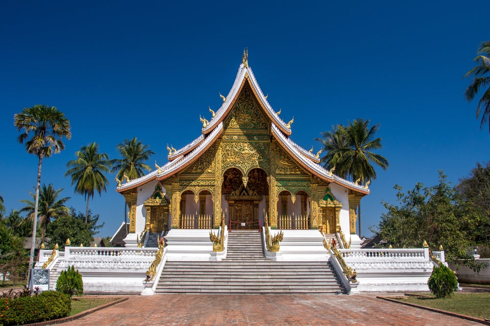 Haw Pha Bang at the Royal Palace Museum in Luang Prabang.