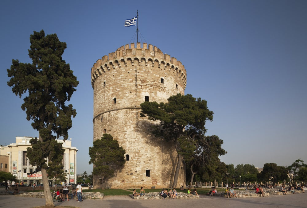Thessaloniki's White Tower.