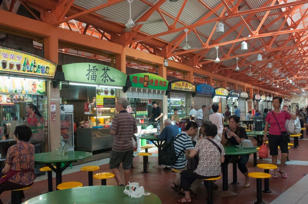 Maxwell Road Hawker Centre.