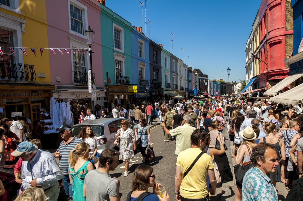 Portobello Road Market.