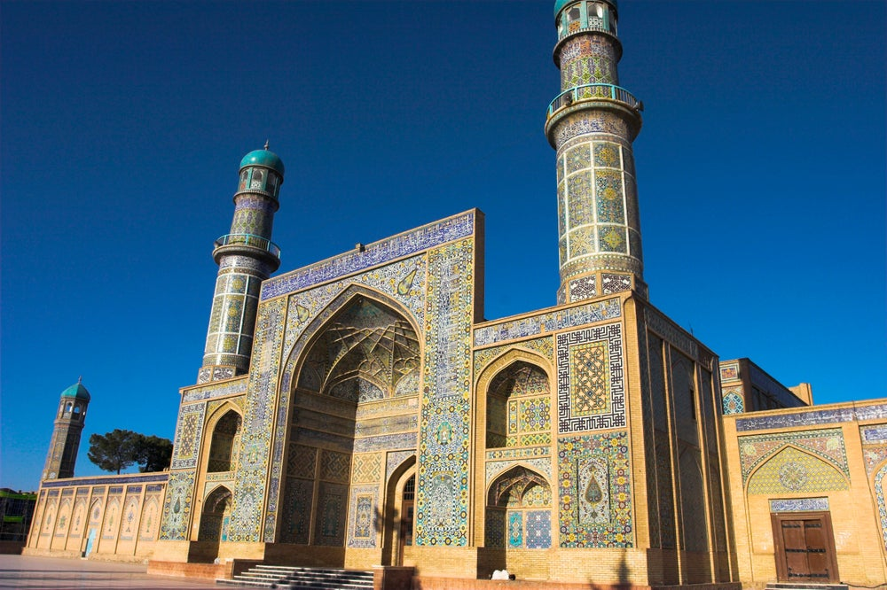 Herat's Friday Mosque.