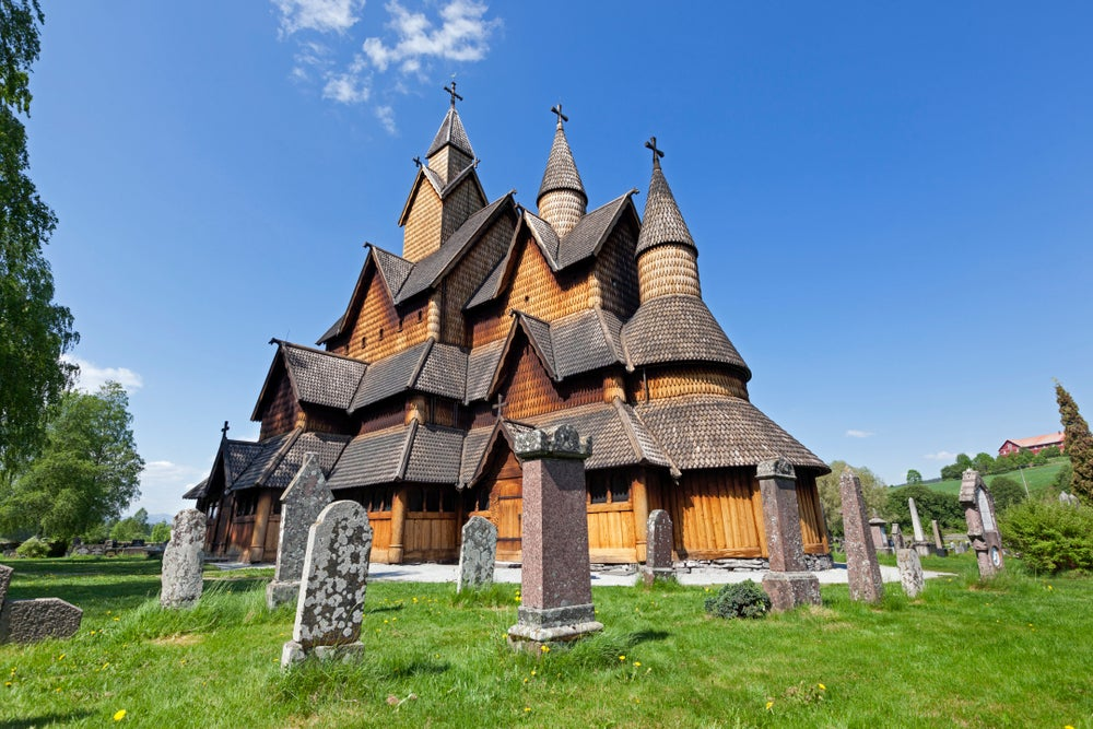 Heddal stave church.