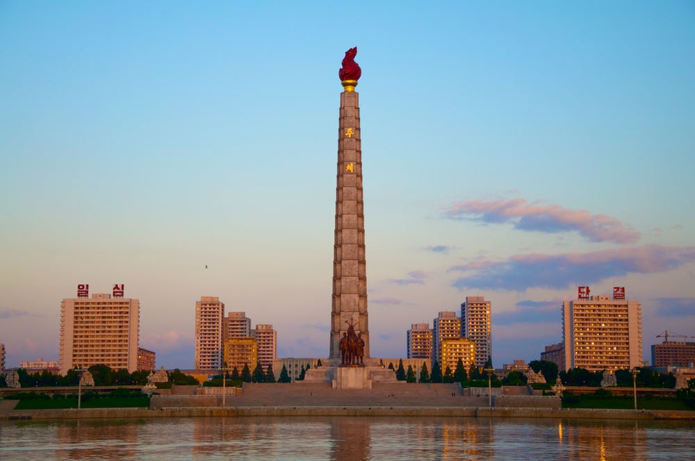 Tower of the Juche Idea.