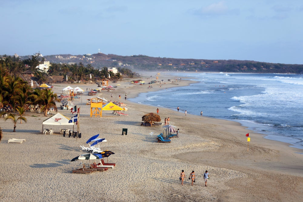 Playa Zicatela.