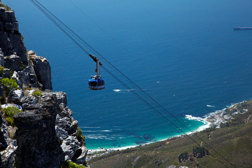 Table Mountain Aerial Cableway.