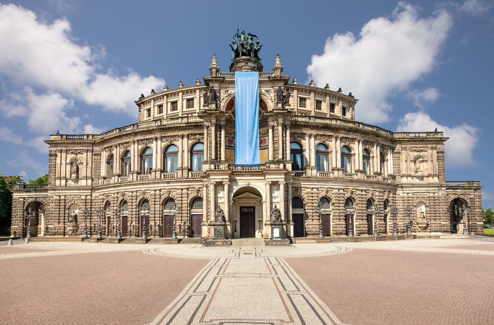 Semperoper Dresden.