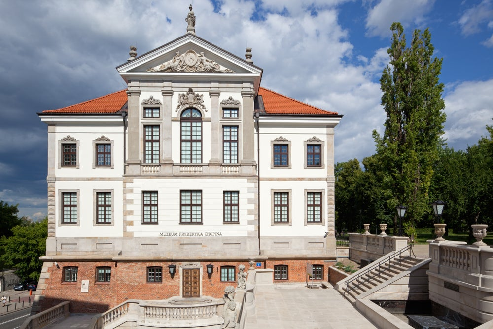 Chopin Museum in Warsaw.