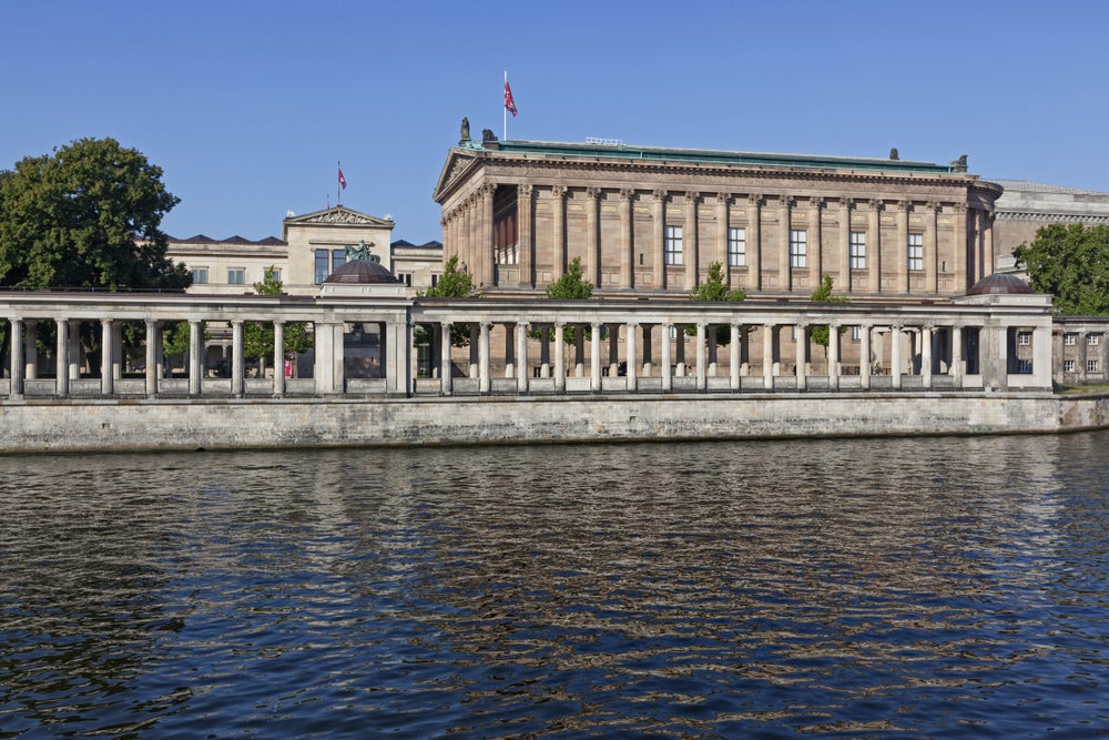Berlin's Alte Nationalgalerie.
