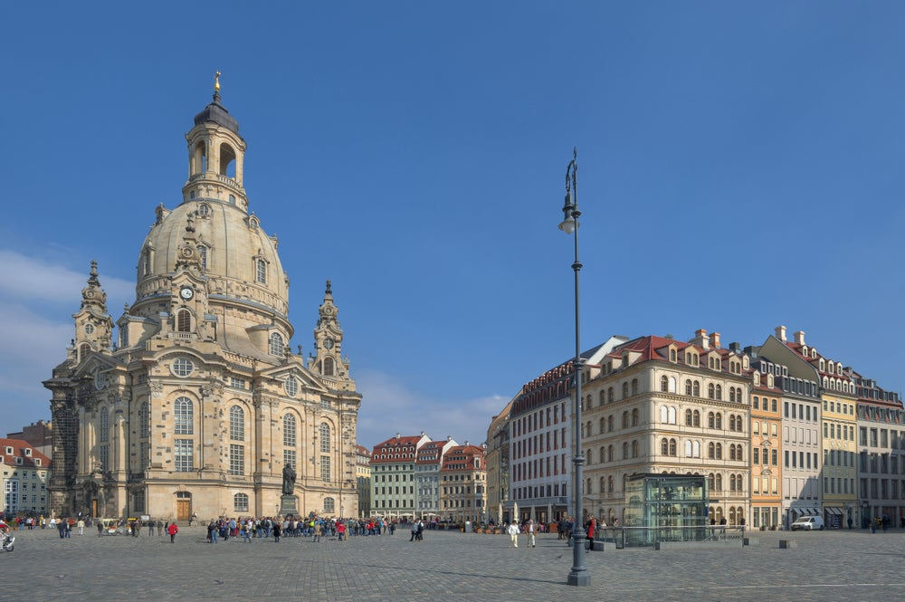 Frauenkirche in Dresden.