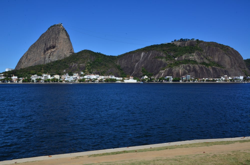 Sugar Loaf Mountain and Pão de Açúcar.