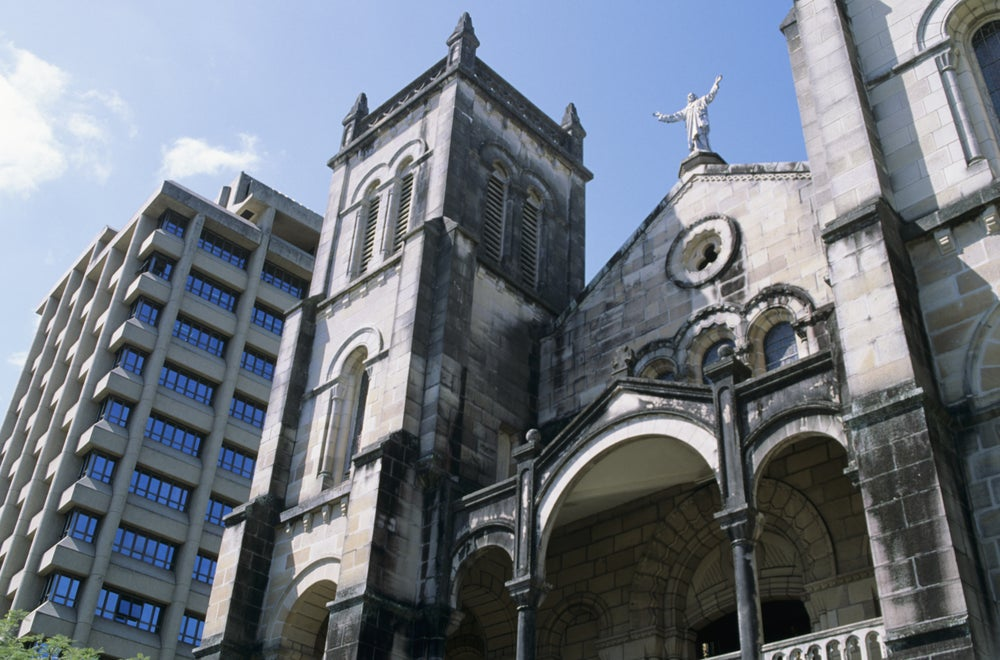 Suva's Roman Catholic Cathedral.