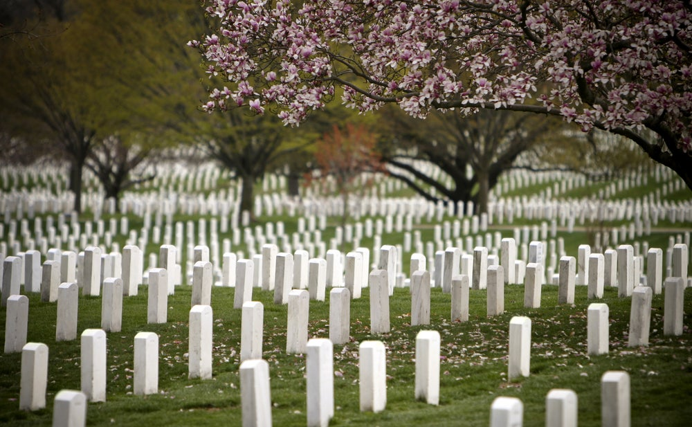 Arlington National Cemetery.