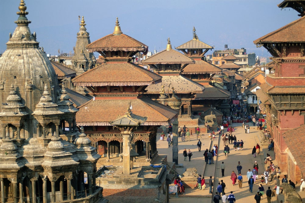 Newari Temples in Patan Durbar Square