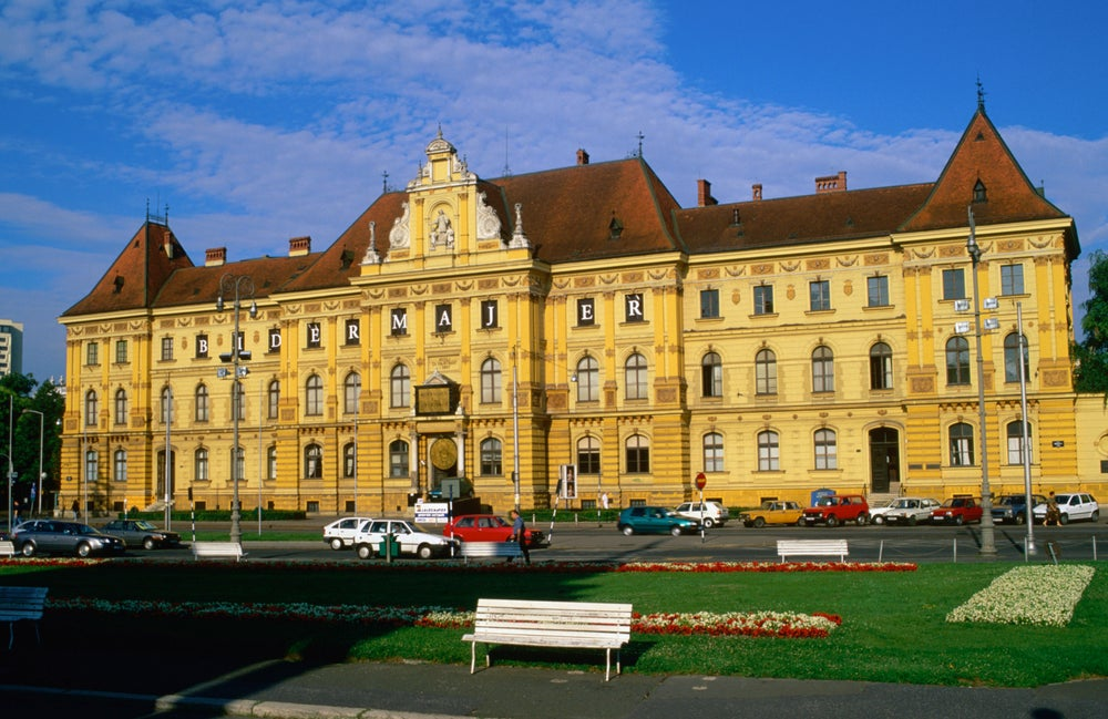 Zagreb's Arts & Crafts Museum.