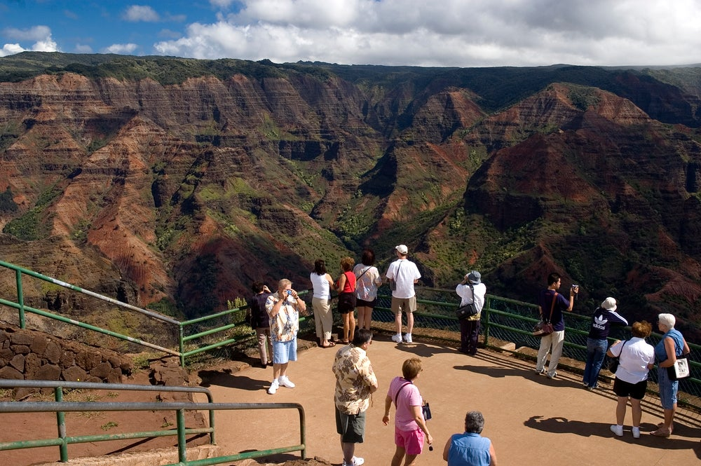Waimea Canyon Lookout.