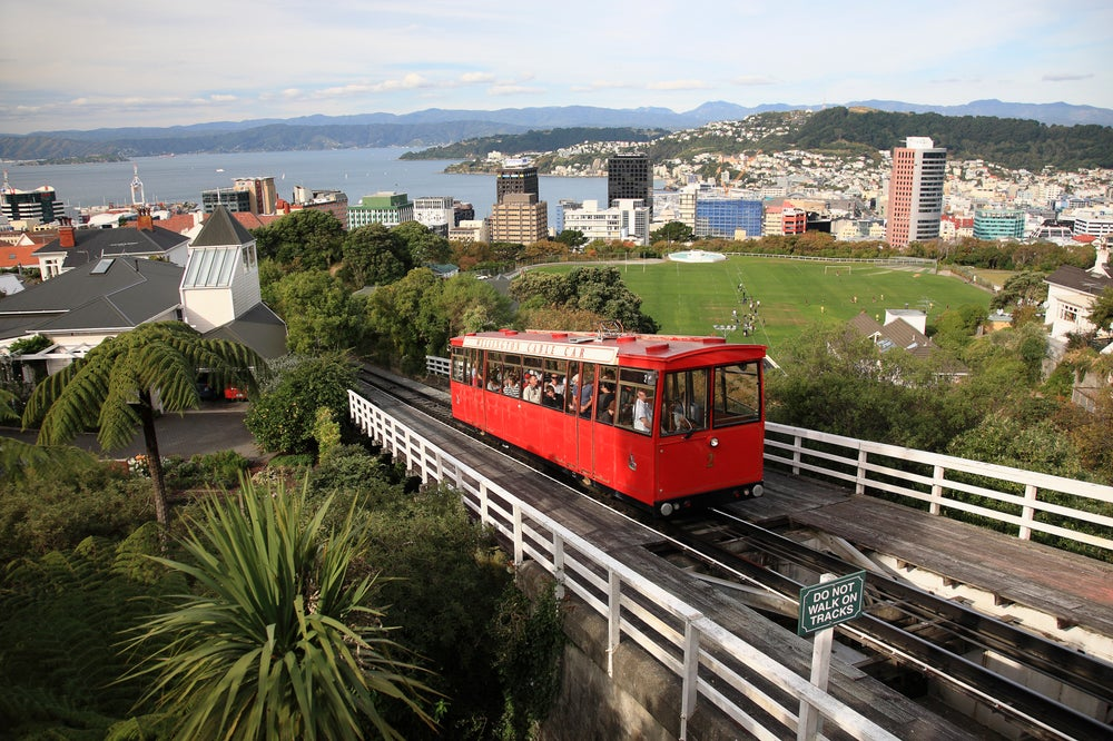 Wellington's Cable Car & Museum.