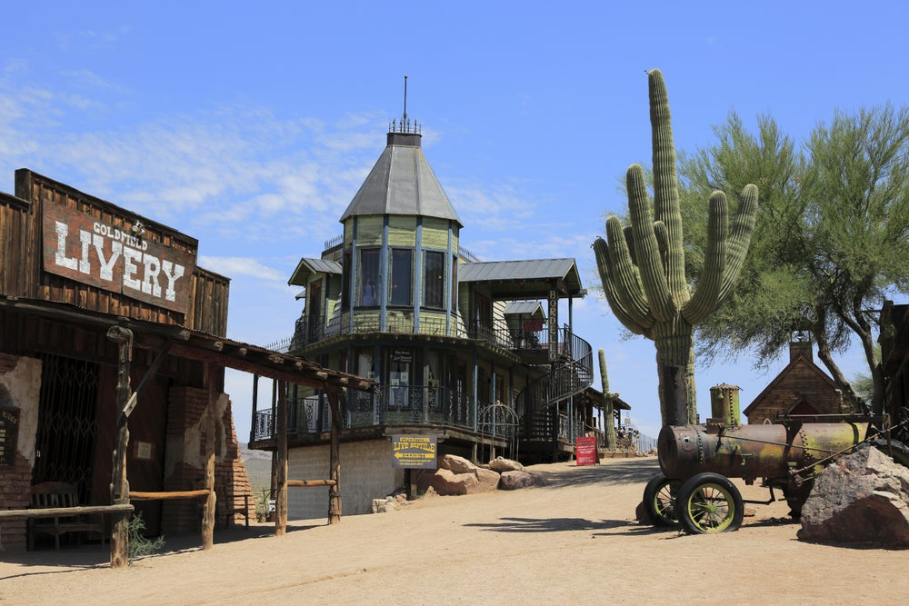 Goldfield Ghost Town.