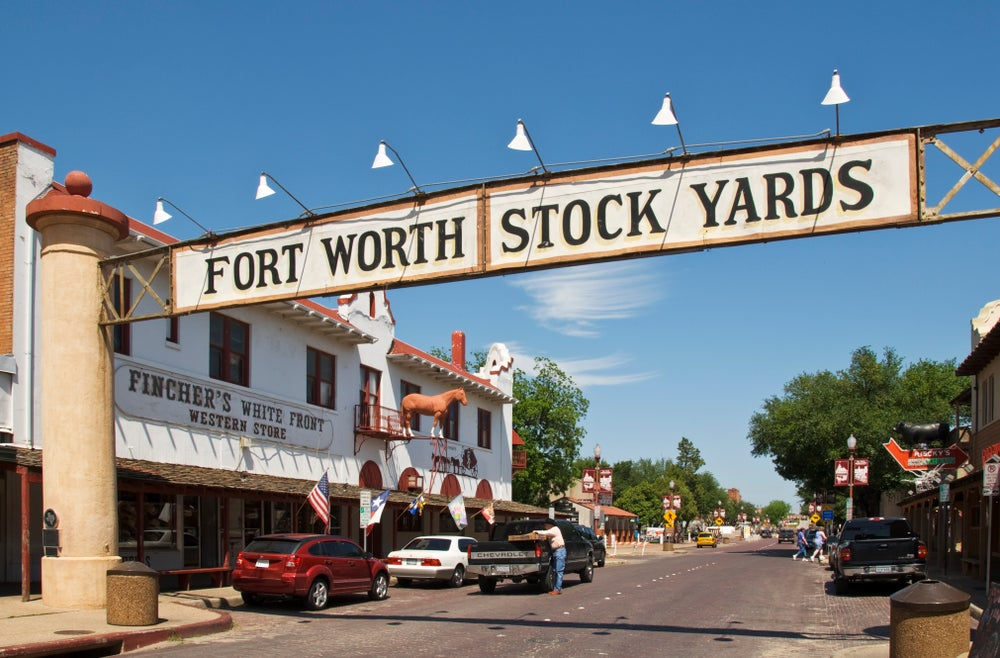 Exchange Avenue and Stockyards National Historic District.