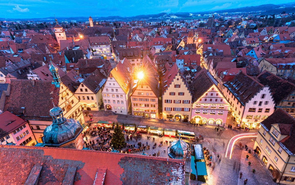 Christmas Market in Rothenburg.