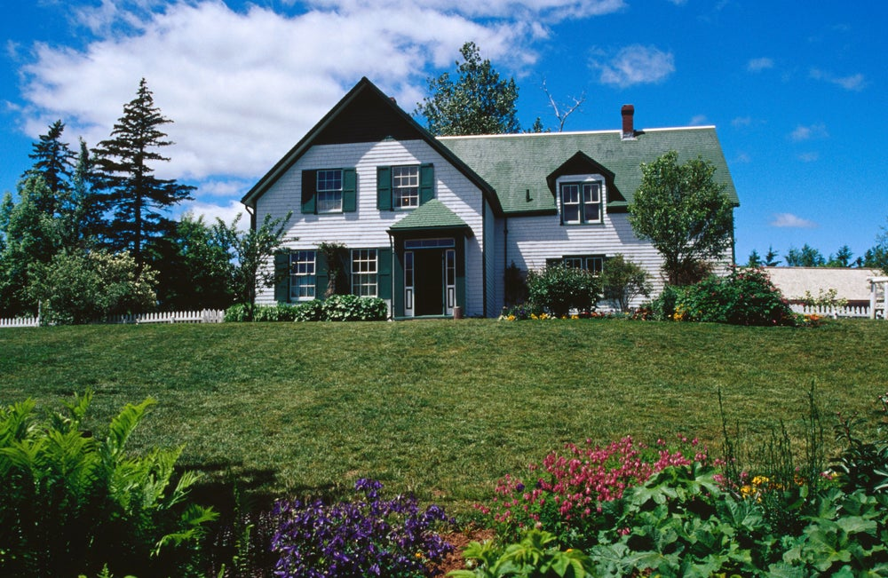 'Green Gables' house in Prince Edward Island National Park.