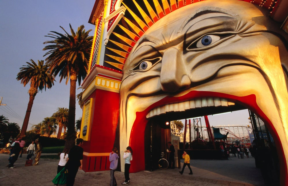 Entrance of Luna Park.