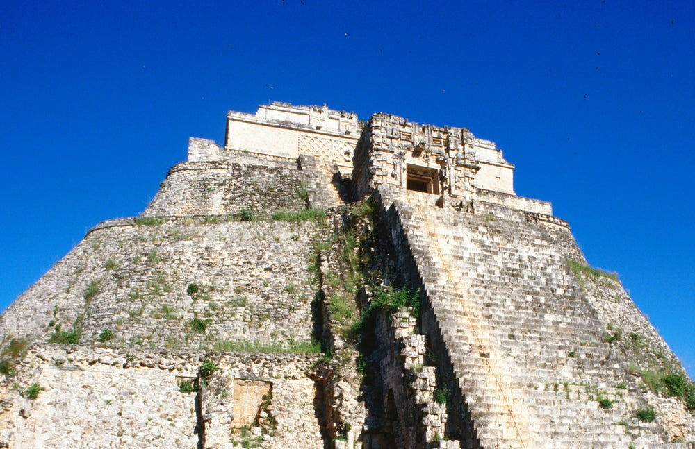 The Pyramid of the Magician, the site is one of the key structures in Uxmal due to its size and religious significance.