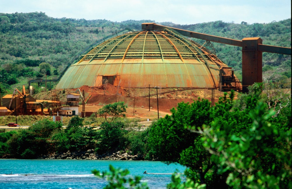 Kaiser Bauxite Mine - Discovery Bay.
