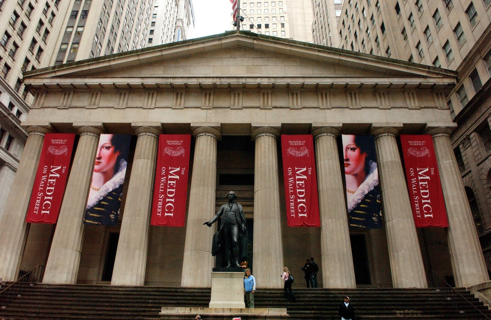Federal Hall, Lower Manhattan.