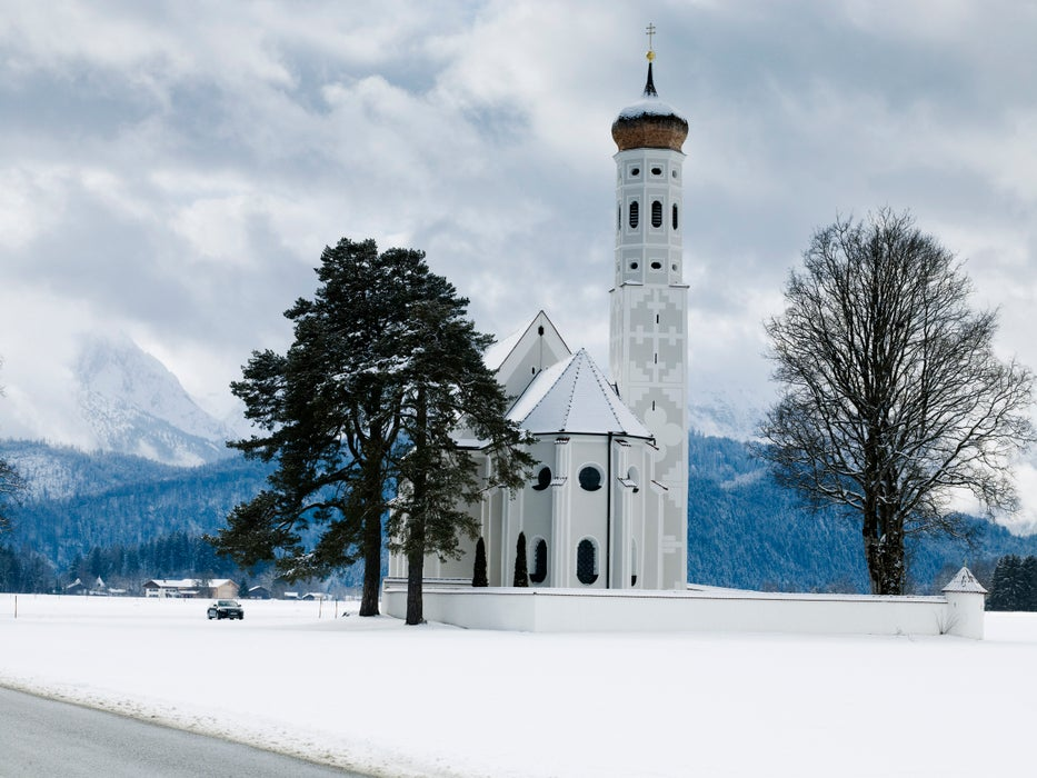 Church of St.Koloman near Neuschwanstein.
