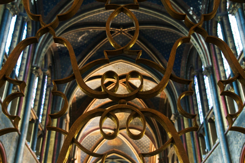 Vault in Eglise St-Germain des Pres.