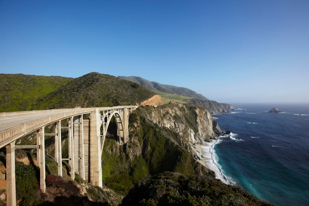 Bixby Bridge on Pacific Coast Highway.