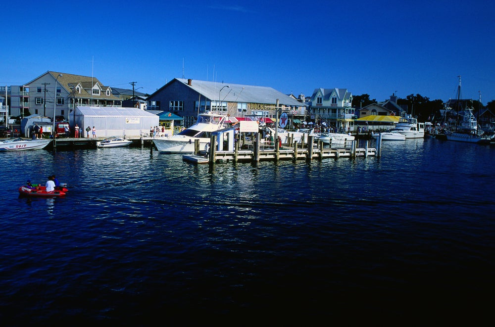 View of the Port at Nantucket Island - Massachusetts