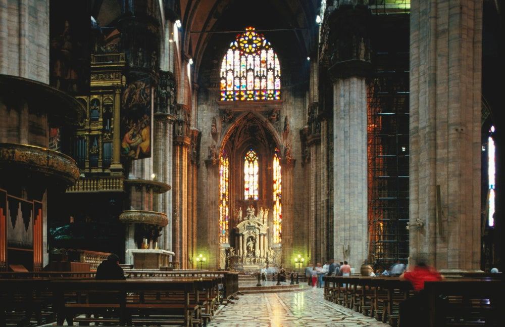 Interior Milan Cathedral, Milan