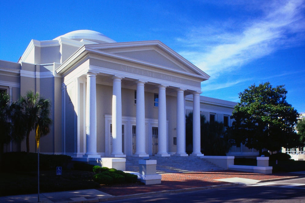 The Supreme Court building - Tallahassee, Florida