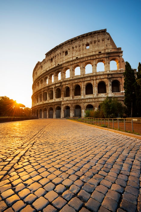 Ancient Colosseum arena.