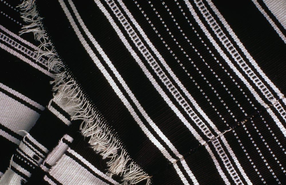 An indigo Bobo cloth from Niger.