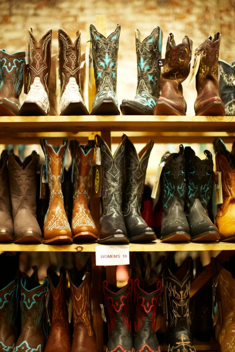 Cowboy boots for sale at Betty Boots.