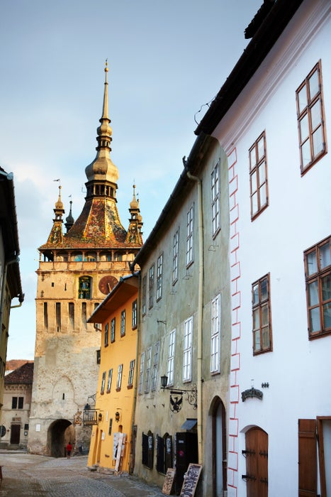 Medieval town of Sighisoara.