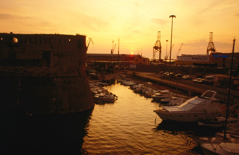 The harbour - Livorno ( Leghorn ), Tuscany