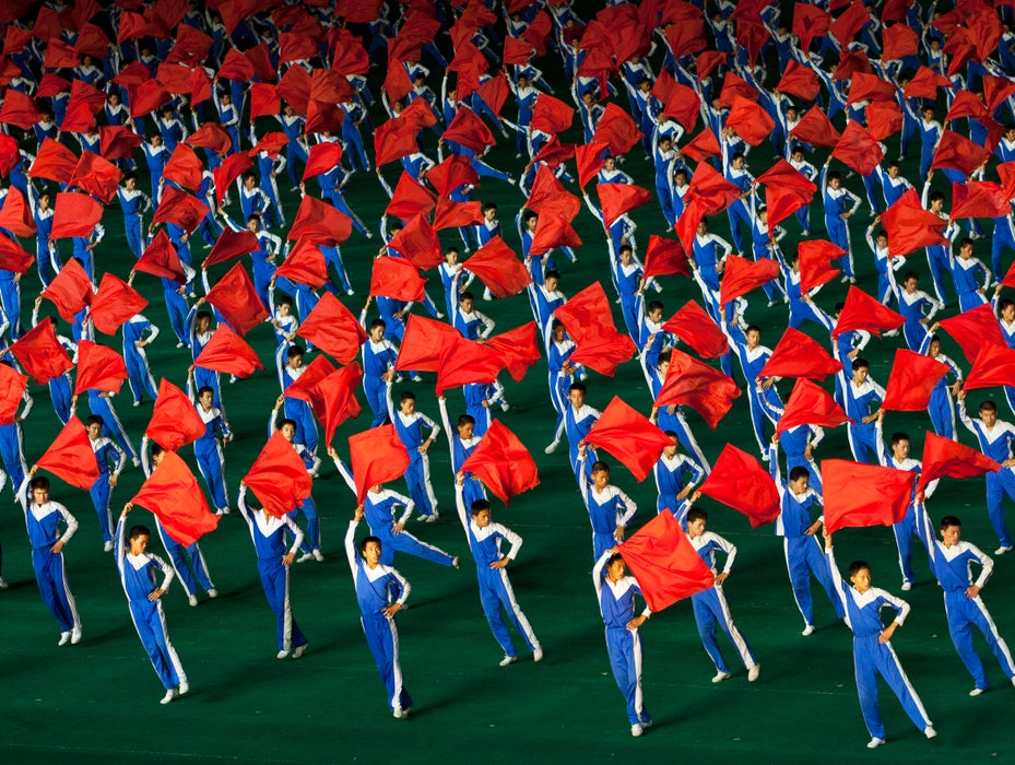 Arirang Mass Game In May Day Stadium, Pyongyang, North Korea