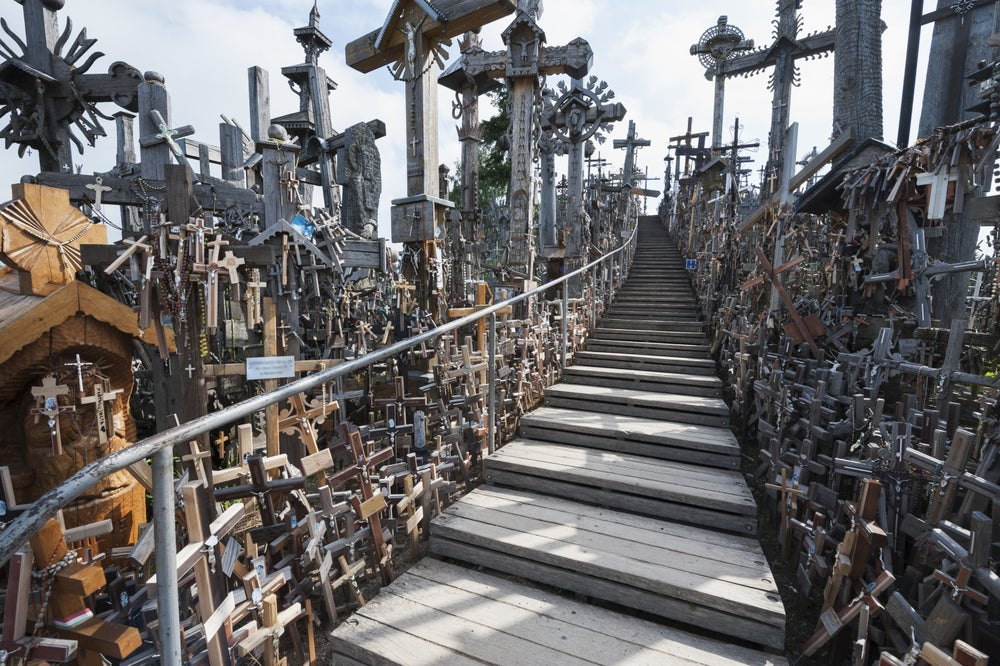 Hill of Crosses in Siauliai.