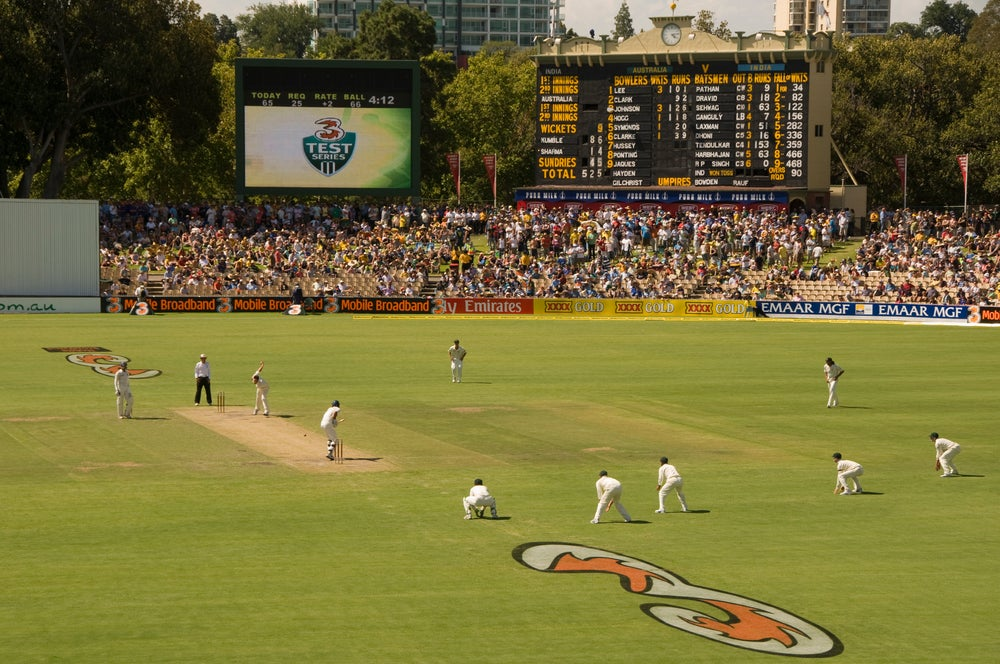 Adelaide Oval.
